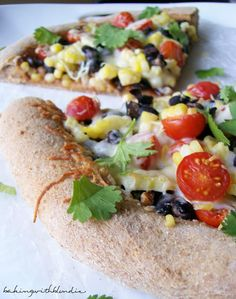 Baking with Blondie : Santa Fe Summer BBQ Pizza with Whole Wheat Crust