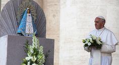 La Iglesia tiene en María el modelo más bello de maternidad, afirma el Papa Francisco