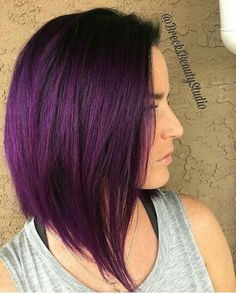 Velvet... @brecksbeautystudio is the artist... Pulp Riot is the. Purple  HighlightsHair ...