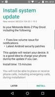 Verizon Moto Z Play Droid receiving a minor update with bug fixes and January security patch, build mc024.104-35-1-19-3 Another Verizon locked smartphone is getting the latest Android security update. The Moto Z Play Droid is receiving a new…