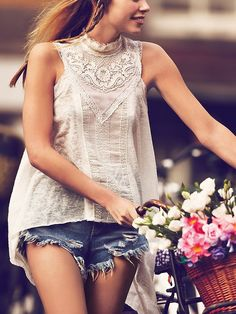 talk about love affair... i really, really want this @Free People top