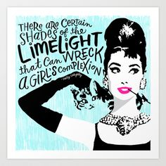 Certain Shades of the Limelight Art Print by Gigglebox - $25.00