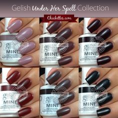 gelish my nightly craving   by Andrea • Gelish Swatches • Tags: Gelish Under Her Spell ...