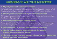 """Interviewer questions--""""Why would I want to work for you/your organization?""""--I've used this a few times and saw jaws drop.  (got the jobs too)"""