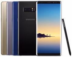 Samsung Galaxy Note 8 SM-N950F/DS 64GB (FACTORY UNLOCKED) Black Gold Gray Pink https://qdiz.com/?p=2904