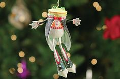 Lords-a-Leaping - 12 Days Mini Ornament by Patience Brewster