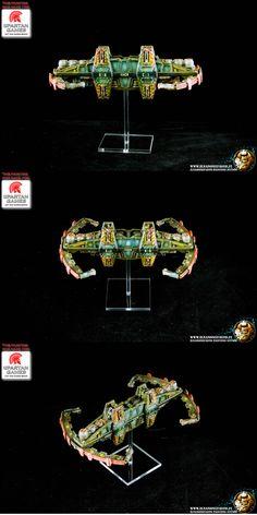 Firestorm Armada - Space station logistics support