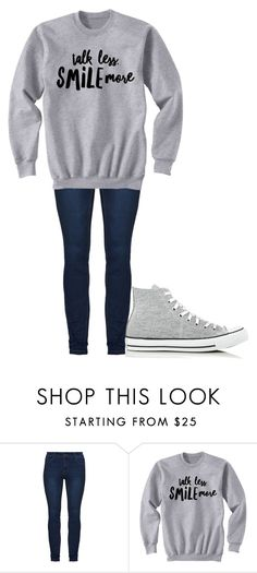 """Untitled #194"" by cruciangyul on Polyvore featuring Converse"
