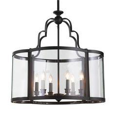 Oval Quatrefoil Lantern - Large $799 24w 15.5d  25h