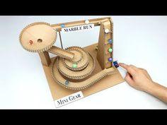 Wow! Amazing DIY Marble Run Machine from Cardboard - YouTube