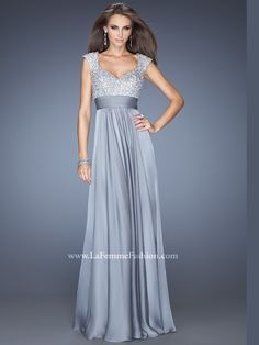 Modest and cute prom dress