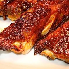 Rib of the Week: Aleppo Chili Pork Ribs with Peach and Lime - The Hungry Mouse Super Bowl Weekend, Aleppo, Pork Ribs, Chili, Steak, Lime, Peach, Breakfast, Food