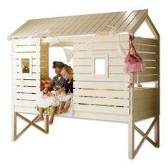 Kinderbett baumhütte  Kinderbett Baumhütte | Kinderzimmer Ideen | Pinterest ...