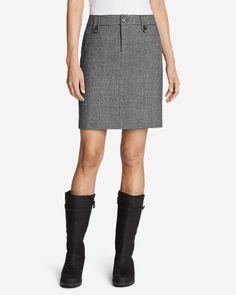 da614beccd2a Women s Classic Wool-Blend Skirt - Pattern Eddie Bauer