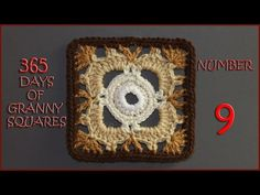 365 Days of Granny Squares Number 9 - YouTube