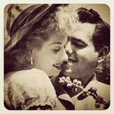 Lucille Ball and Desi Arnaz - love them!
