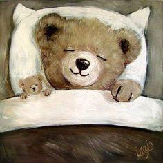 Photo Ours, Art D'ours, Love Bears All Things, Teddy Bear Pictures, Bear Illustration, Cute Teddy Bears, Bear Art, Stuffed Animals, Canvas Art Prints