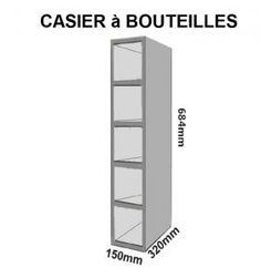 1000 ideas about meuble casier on pinterest meuble - Casier bouteille cuisine ikea ...