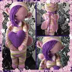 fairy mod made by Esther E. / based on a lalylala crochet pattern