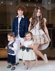Party Kleider für Mädchen Kid – Stricken Wolle
