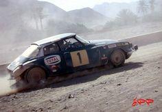 Maroc 1970 - Neyret Bob - Terramorsi JacquesiconCitroën DS 21 Proto Chassis Court
