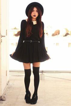 Black-creepers-choiescom-shoes-black-sequined-collar-sheinsidecom-dress