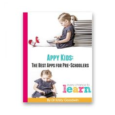 "Kristy Goodwin used our Bold Ideas Template for iBooks Author to self-publish her book ""Appy Kids: Best Apps for Pre-schoolers."