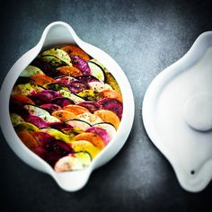 Chef Alain Ducasse: Recipe of the month : Cookpot of autumn vegetables and fruits