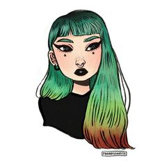 I'm such a sucker for cool gals ••• #illustration #art #drawing #doodle #instaart #prettypeople