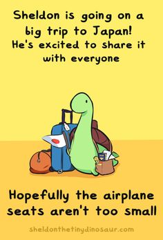 """sheldontinydino: """" It's time for an adventure! I am actually going to Japan tomorrow for about a week. So this is a notice that messages may not be answered, and I won't be able to offer support for my shops until I return. In the meantime however,..."""