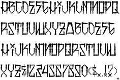 black  fonts | Identifont - Viper Black Thin
