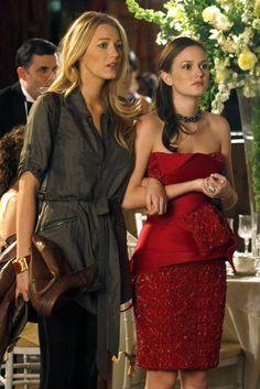 Blair Waldorf And Serena Van Der Woodsen
