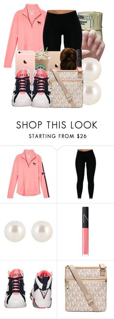 """Carra"" by honey-cocaine1972 ❤ liked on Polyvore featuring Henri Bendel, NARS Cosmetics, Retrò and Michael Kors"