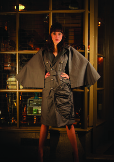 A girl about town editorial piece designed, styled and directed by Sam O'Sullivan