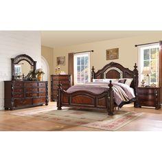 Found it at Wayfair - Verona Panel Customizable Bedroom Set