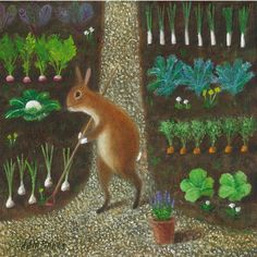 Fine Art Print of an Original Animal Painting: by TheLitusGallery