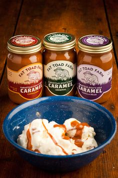 Fat Toad Farm Caramel Sauce | Bourbon & Boots