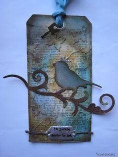 idea from tim holtz tags
