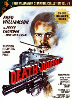 Death Journey poster, t-shirt, mouse pad Black Tv Shows, Old Tv Shows, Fred Williamson, Old School Movies, Mean Cat, Cult Movies, Film Posters, Great Movies, Illustrations Posters