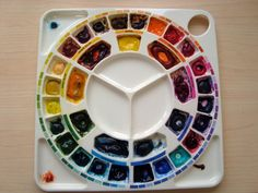 Watercolour Florals recommends the Michael Wilcox color palette ($40)