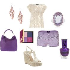 Purple!, created by barbie417 on Polyvore