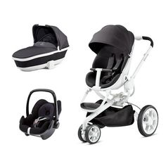 Black Irony Moodd complete travel system groovy style. All in £639