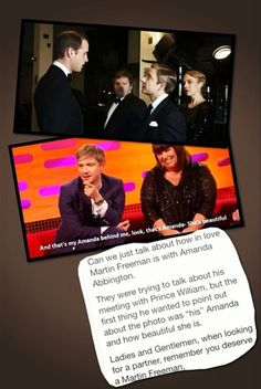 Everyone deserves a Martin Freeman! :) ♥<<< well that's too bad cause he's with Mr. Cumberbatch