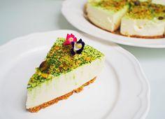Recipe: Matcha Pistachio Tofu Cheesecake with SCS Butter | Shiberty