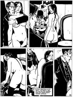 "page 10 ""La bascule à Charlot"" (original French edition 1979, Pepperland) - Tardi"