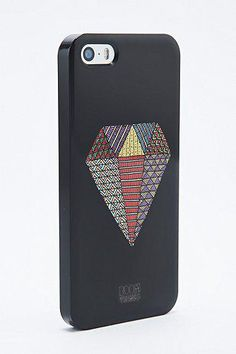 Boom Things Diamond iPhone 5 Case in Black #technology #covetme #boomthings #iphone #case