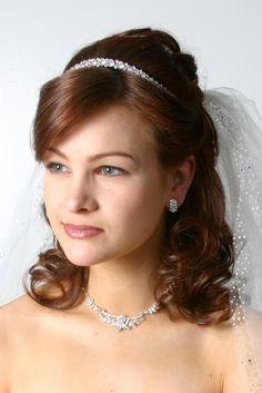 hair idea. like the headband (NEW YORK BRIDAL HAIR)