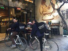 Το street delivery κάνει τη διαφορά... Bicycle, Street, Bicycle Kick, Bike, Bmx, Walkway, Cruiser Bicycle