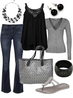 """dressy casual"" Throw on a pair of black boots and it's perfect"