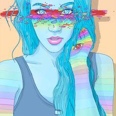 Phazed trippy psychedelic acid lsd